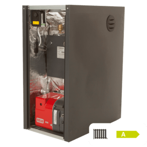 Warmflow Kabin-Pak HE Pre-Wired Regular Oil Boiler