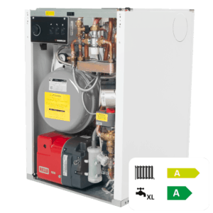 Warmflow Utility HE Pre-Pumped Regular Oil Boiler