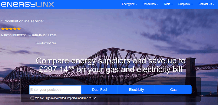 Energylinx Website